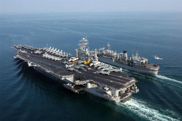 مخاوف أمريكية من التدريب العسكري البحري للقوات الايرانية