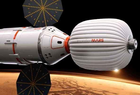 بناء منازل للرواد في أعماق الفضاء