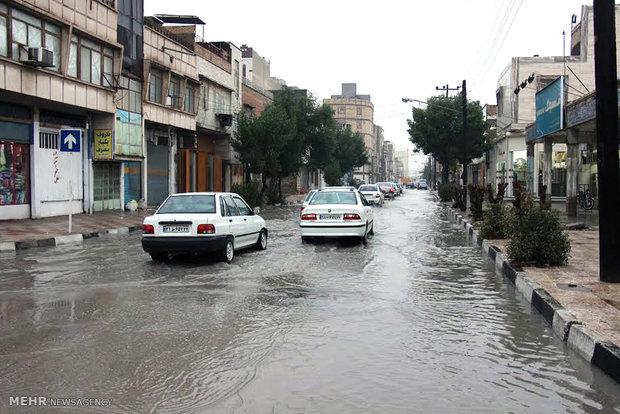 اجرای پروژه جمع آوری آب های سطحی در غربی ترین نقطه پایتخت