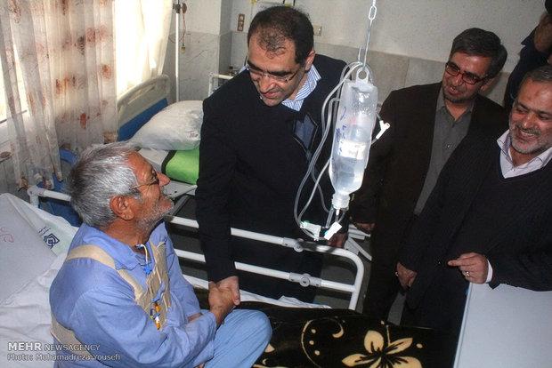 فعالیت کامل بیمارستان های دولتی در تعطیلات نوروزی
