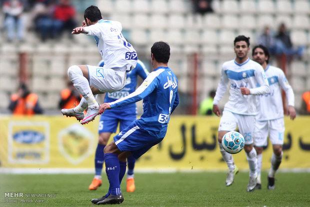 دیدار تیم های فوتبال استقلال و ملوان