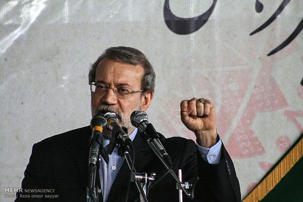 Saudis to get stuck in Nimr's martyrdom: Larijani