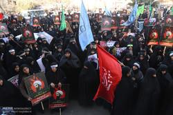 تجمع مردم تهران در اعتراض به اعدام شیخ نمر