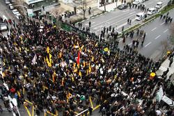 تجمع مردم مشهد در اعتراض به اعدام شیخ نمر