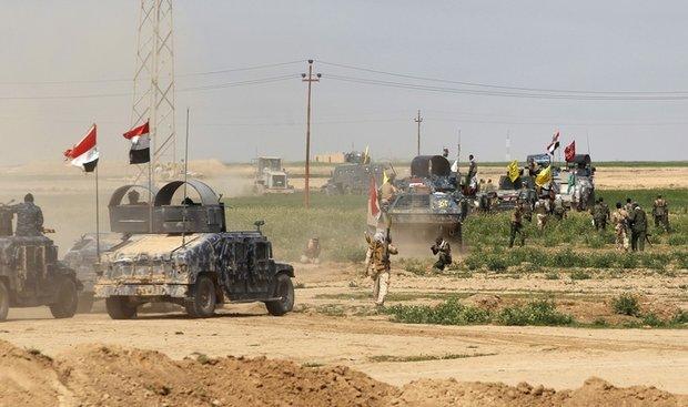 عراقی فورسز نے ہیت میں داعش کے قبضہ سے 1500 قدیوں کو چھڑا لیا