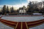 استقبال رسمی جهانگیری از نخست وزیر یونان