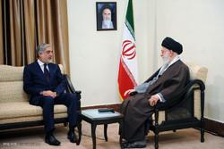 دیدار رییس اجرایی دولت افغانستان و هیات همراه با رهبر انقلاب
