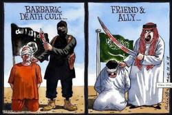 برترین کاریکاتورهای جهان؛ جنایت آل سعود