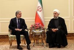دیدار روحانی و عبدالله عبدالله