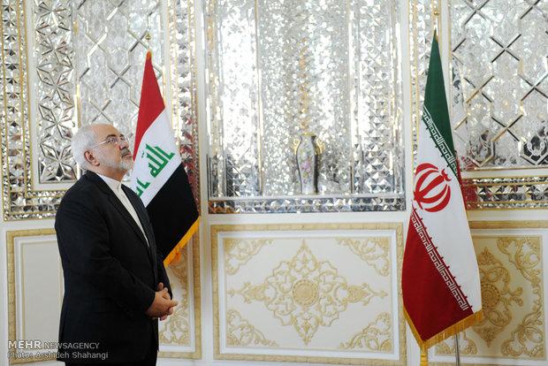 دیدار و نشست خبری وزرای امور خارجه ایران و عراق