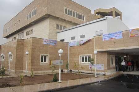 بیمارستان ۹۶ تختخوابی تاکستان بهمنماه امسال افتتاح میشود