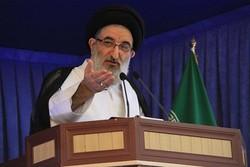 تجمع امت حزب الله مقابل استانداری البرز خودجوش بود