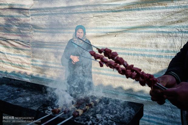 جمعه بازار محلی جویبار استان مازندران