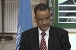 دعوت «ولد الشیخ» از طرف های یمنی برای بازگشت به میز مذاکرات