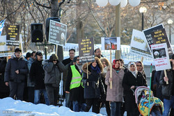 Muslims protest against Saudi regime in Canada