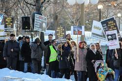 تجمع اعتراض آمیز مسلمانان اوتاوا به اعدام آیت الله نمر