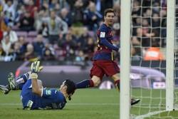 بازگشت بارسلونا به صدر با هت تریک مسی/ گرانادا هم ۴ گل خورد