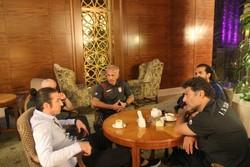 حضور نوری و تیموریان در هتل تیم فوتبال امید در قطر