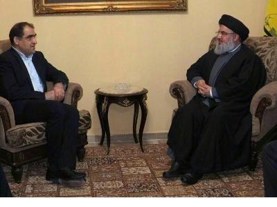 وزير الصحة الايراني يشرح تفاصيل لقائه مع السيد حسن نصرالله