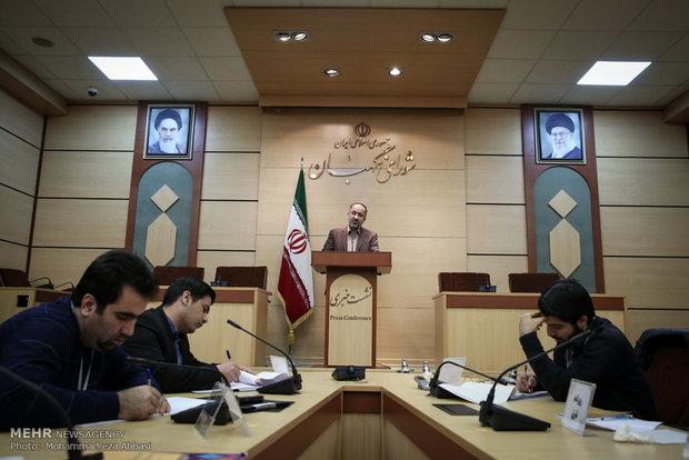 المؤتمر الصحفي للمتحدث باسم مجلس صيانة الدستور نجات الله ابراهيميان