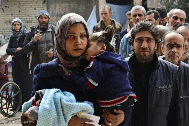 بحران انسانی در سوریه