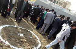 فیلم/حاشیه های مراسم کلنگزنی بیمارستان سوانح و سوختگی عمیدی نوری