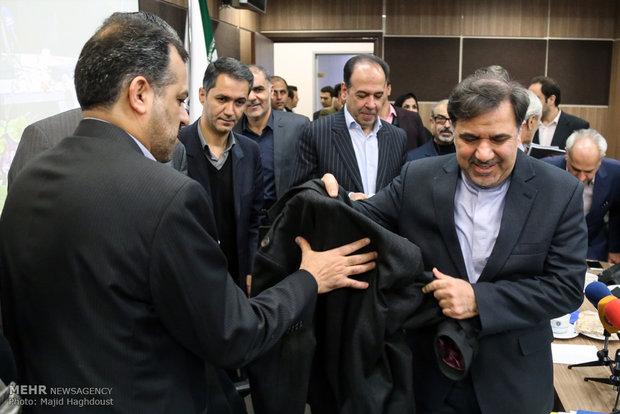 جلسه نمایندگان اتاق بازرگانی ایران با وزیر راه و شهرسازی