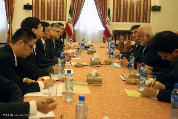 دیدار معاون وزیرامورخارجه چین با ابراهیم رحیم پور معاون آسیا و اقیانوسیه وزارت امور خارجه
