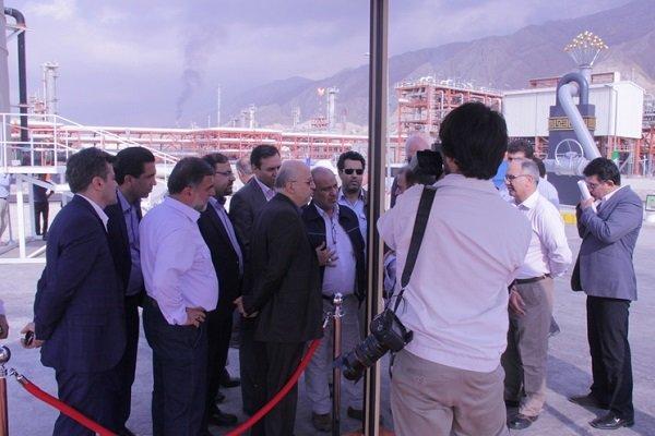 تولید روزانه ۵۰ میلیون مترمکعب گاز در فاز ۱۵ و ۱۶ پارس جنوبی