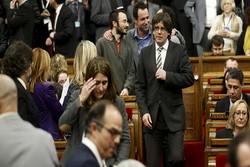 رئيس إقليم كتالونيا: سوف نعلن الانفصال عن إسبانيا خلال أيام