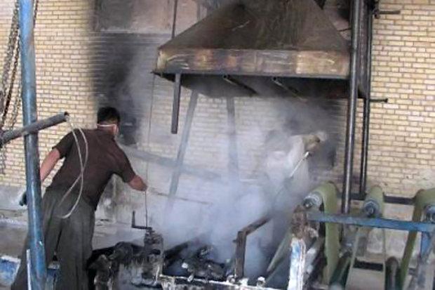 جولان گازهای سمی کارخانجات ایزوگام دلیجان/ فیلترها خاموشند