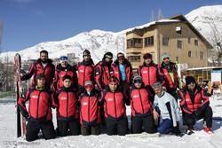 Ski training camp for veterans, disabled athletes