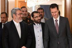 Esad, İran İçişleri Bakanı'nı kabul etti