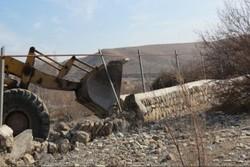 بیش از ۶۰ فقره تجاوز به اراضی مبارکه کشف شد