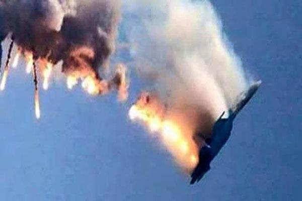 اسقاط مقاتلة سورية بريف حلب
