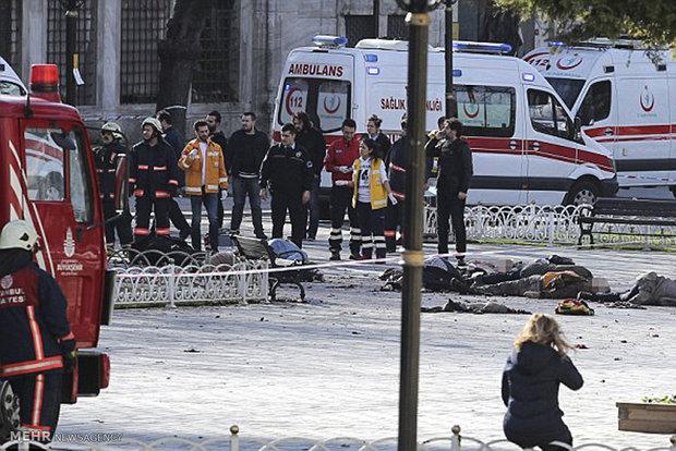 مشاهد من الاعتداء الارهابي وسط اسطنبول
