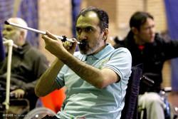 Dart tournament of veterans, disabled athletes