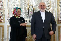 دیدار وزرای خارجه ایران و اندونزی