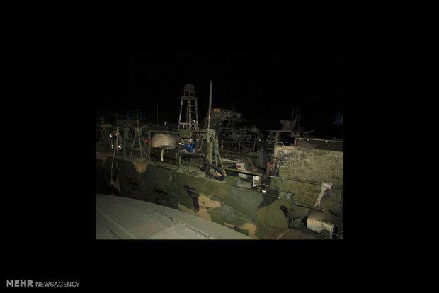 نخستین تصاویر از دستگیری تفنگداران دریایی آمریکایی منتشر شد