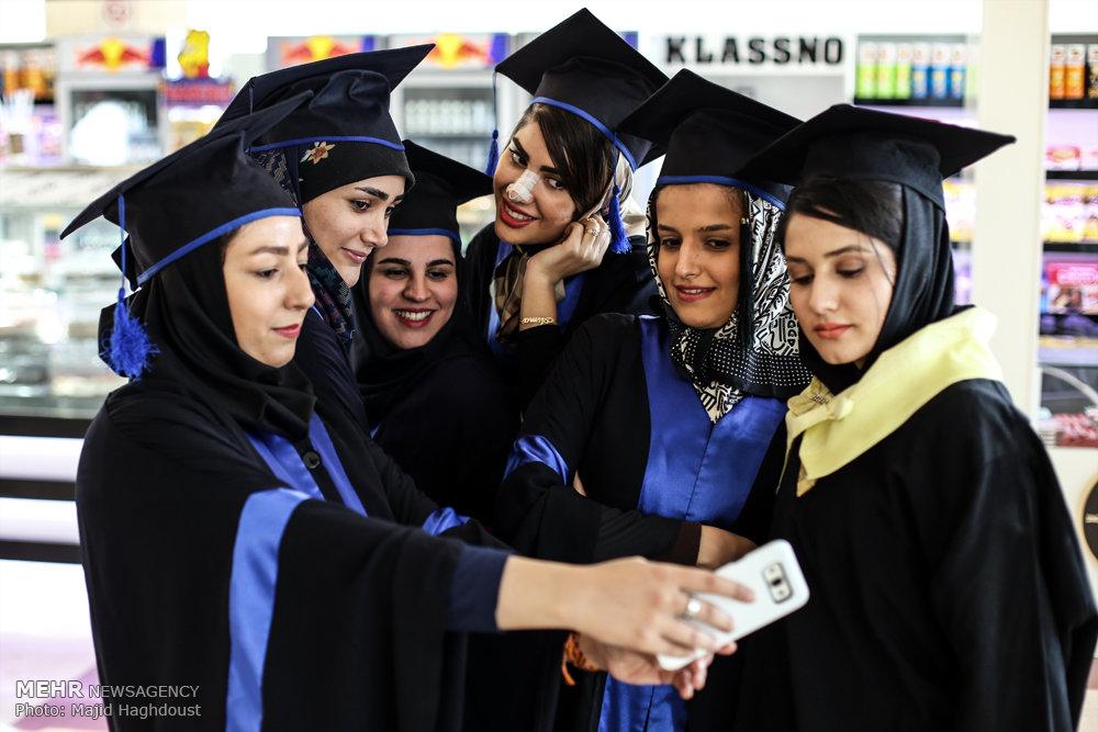 لباس فارغ تحصیلی دانشجویان میگنا - تصاوير/ جشن فارغ التحصيلي دانشجویان دانشگاه الزهرا(س)