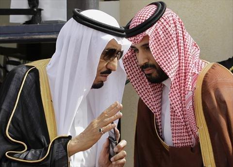 الملك سلمان قلق من مستقبل محمد