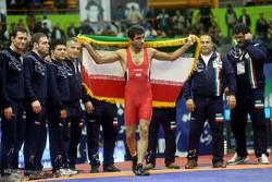 Iran atops Takhti Cup