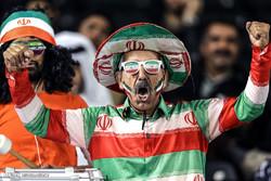 دیدار تیم های  فوتبال امید ایران و امید قطر