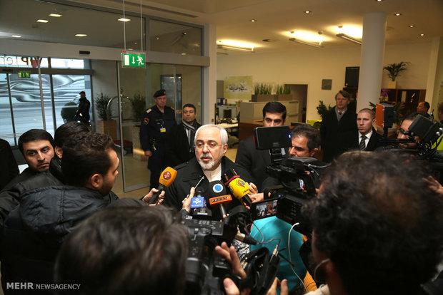 ظريف : تنفيذ الاتفاق النووي يبدأ اليوم بعد صدور تقرير امانو