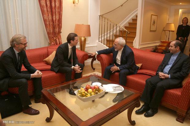 دیدار وزرای امورخارجه ایران و اتریش