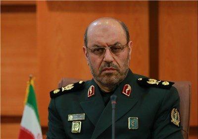 وزير الدفاع الإيراني يعلن عن نشر جزء من منظمومة اس 300