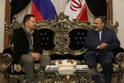 وزیر اسلواکی در مشهد