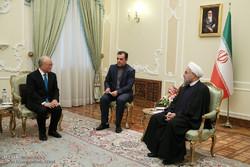 دیدار مدیر آژانس بین المللی انرژی اتمی با رئیس جمهور