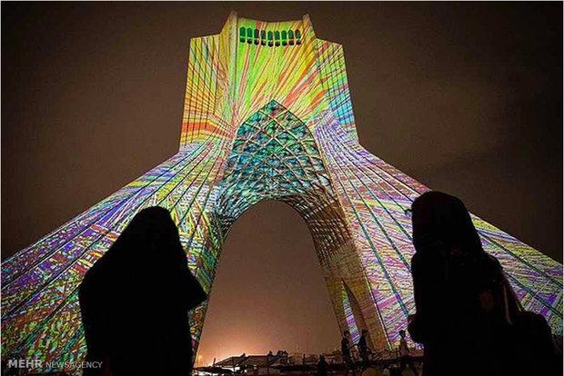 نورپردازی توریستی تهران تور تهرانگردی بهترین مناطق توریستی ایرانگردی