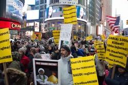 VIDEO: Anti-Saudi protests in NY